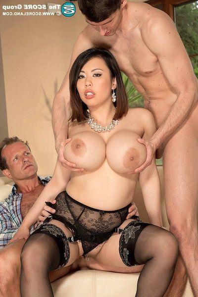 Oriental pornstar Tigerr Benson gains dp anal superfuck