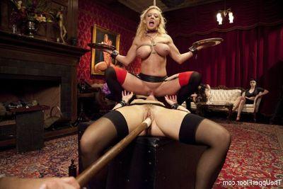 Anal House Attendant Teaches Anikka Albrite give Veneration Blarney