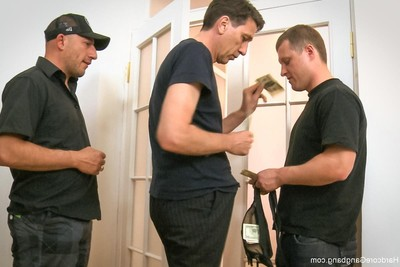 Russian beauty acquires fucked by group of guys! dual fucking incl.