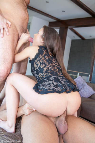 The tiny anita gets heavily twofold drilled