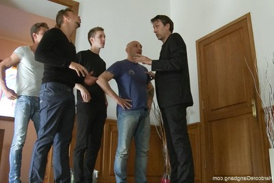 Innocent 18yr old woman slave acquires punished by boss, severe fucking action fuckfest