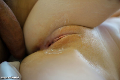 Attractive young Alice is sucking and anus very a huge stick