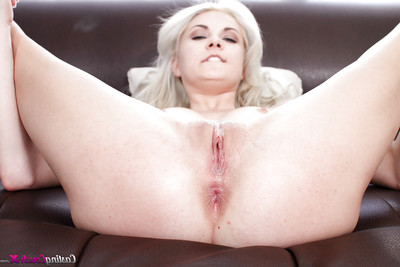 Hardcore very of skinhead amateur pussy with amateur number 1 timer Henley Hart