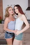 Sweet 18yo pretties drilled up the ass in a ffm threesome