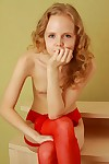Tiny amateur girl as mother gave birth in nylons