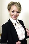 All the time bosses idea stockings secretary removes her trendy work