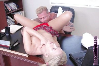 Sasha loves to be pussy banged connected with their way tight wet pink hole hard