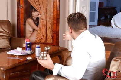 Spectacular Chinese Fuck and play babe Marica Hase receives her chocolate hole owned