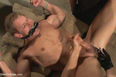 Alex adams is taken down and edged down at the loading docks - part 1712