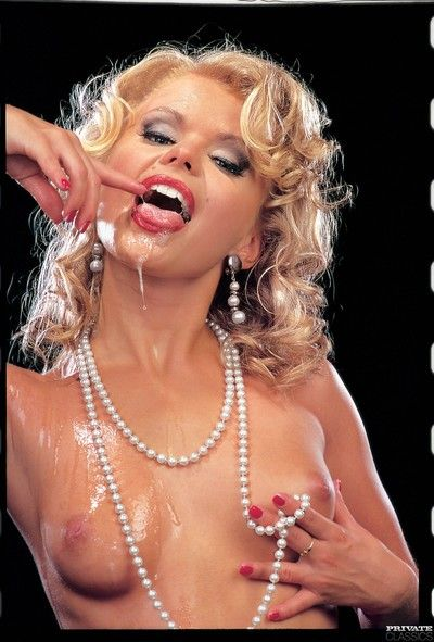 Classic pornstar dora venter gangbanged in all holes