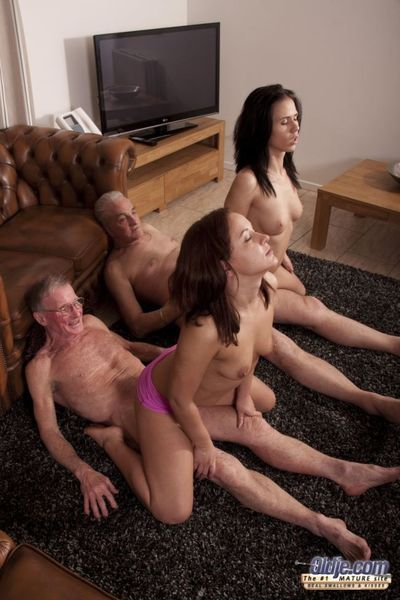 Duo girls are doing an endurance investigate on these superannuated fuck machines to find out which four is best. They are riding cocks in sync, swapping dicks but only for trial purposes. Oldjes are tested thoroughly but the girls cant decide: they are b