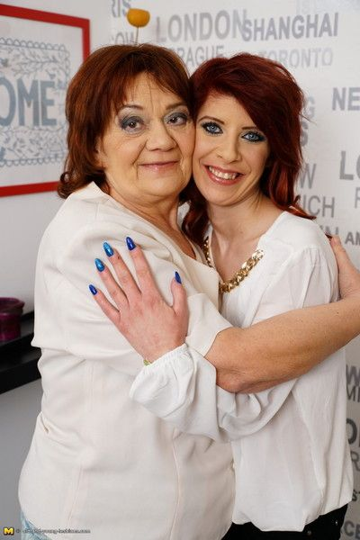 Blistering old and young lesbians diet out