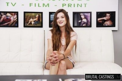 Alex mae, a hot girl with a skateboard attitude, wants to be a model increased by enjoy t