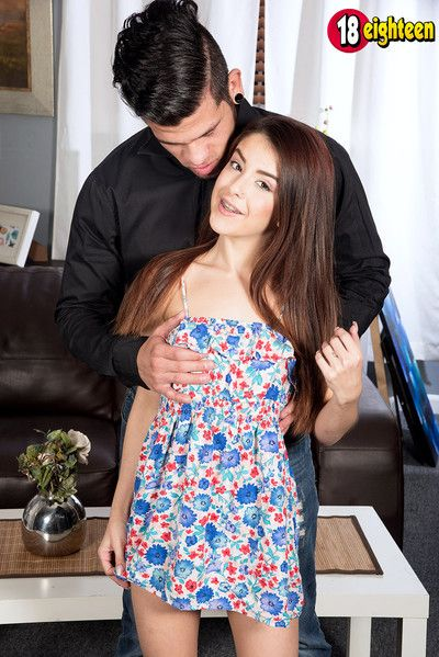 Petite teen vanessa phoenix fucked apart from way-out cock