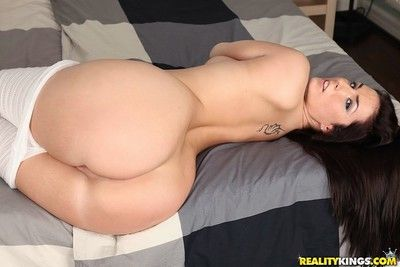 Sexy paige turnah gets her great round ass fucked hard